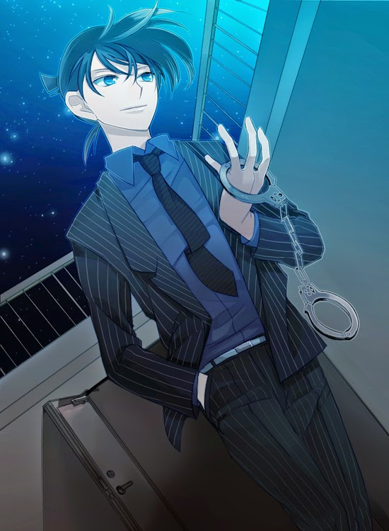 Shinichi Kudo (Hand Cuffs)